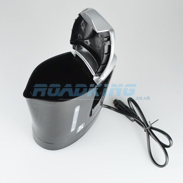1 Litre Car Kettle Black 12v Roadking Co Uk